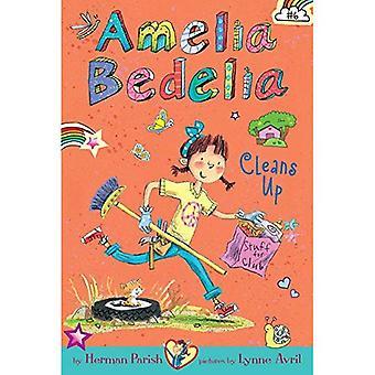 Amelia Bedelia Chapter bok #6: Amelia Bedelia rensar upp