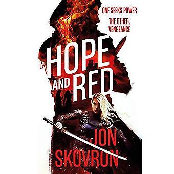 Hoffnung und rot