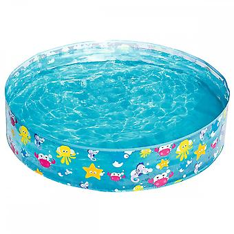 Bestway 48 x 10 Inch Fill-N-Fun Sea Garden Swimming Paddling Pool Blue