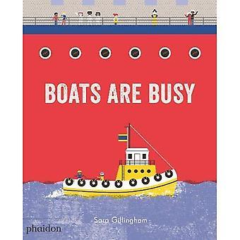 Boats Are Busy [Board book]
