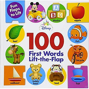 Disney Baby 100 First Words Lift-The-Flap [Board book]