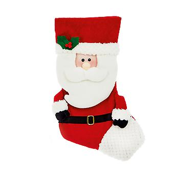 TRIXES 52cm Christmas Santa Present Stocking