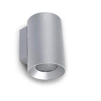 Cosmo grigio grande singolo LED Light Outdoor Wall - Leds-C4 05-9956-34-CL