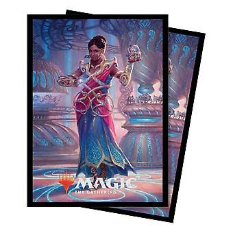 Ultra Pro-2018 91x66mm Saheeli Commander 100 Sleeves-Pack