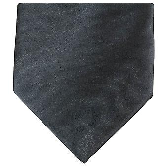 Knightsbridge Neckwear régulière Polyester Tie - gris foncé