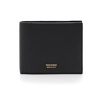 Tom Ford Black Leather Wallet