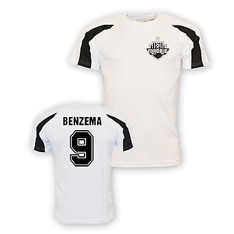 Karim Benzema Real Madrid Sports Training Jersey (white) - Kids