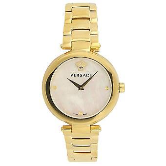Versace Vqr120017 Mystique Mesdames Gold Watch