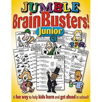 Jumble Brain Busters Junior by Tribune Media Services - 9781892049292