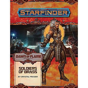 Starfinder Adventure Path Soldiers of Brass Dawn of Flame 2 of 6 Book