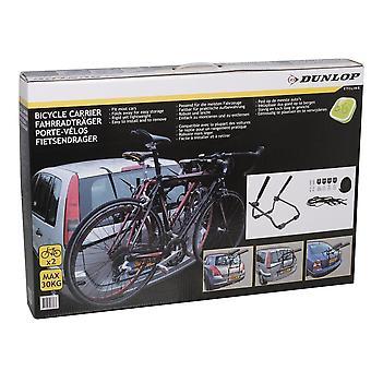 Dunlop fietsdrager voor twee fietsen zwart