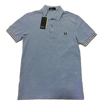Fred Perry Bomber Cuff Pique Men's Short Sleeved Polo Shirt M8489-146