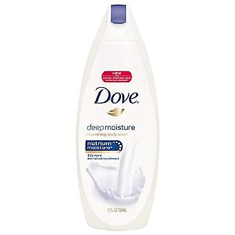 Dove deep moisture body wash, 12 oz