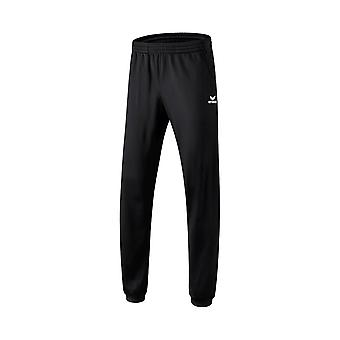 erima polyester training pants with cuffs