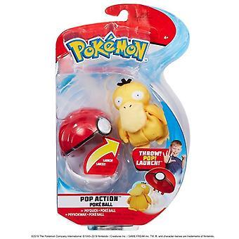 Pokemon Pop Action Poke Ball - Psyduck