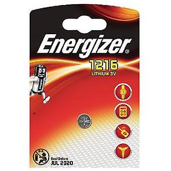 Energizer Pilas Maxi Blister (Foto)Cr1216 Fsb-1 Lithium