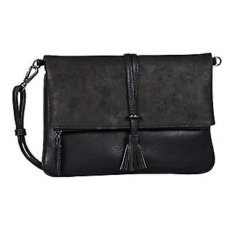 Tom Tailor Acc Shelly - Black Women's Shoulder Bags (Schwarz) 27x19x1.5 cm (W x H L)