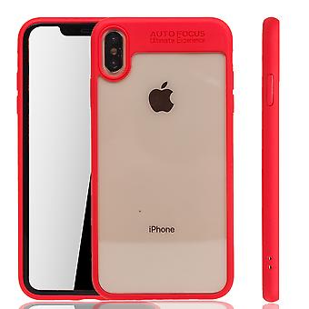 Ultra Slim Case pour Apple iPhone XR Phone Case Cover Rouge