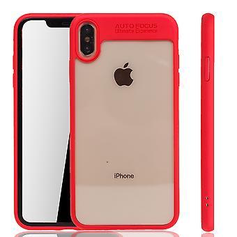 Ultra Slim Case für Apple iPhone XR Handyhülle Schutz Cover Rot