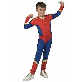 Super Boy Superhero Kids Costume Boys Carnaval Costumes Costumes Costumes D'Enfants Déguisement