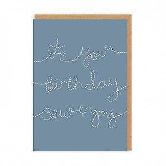 Ohh Deer Its Your Birthday Sew Enjoy Card