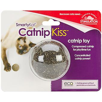 SmartyKat CatnipKiss Compressed Catnip Toy- 9351