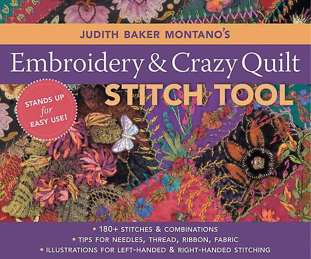 C & T Publishing Embroidery & Crazy Quilt Stitch Tool Ct 10644