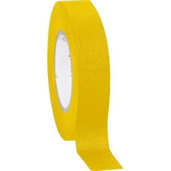Cloth tape Coroplast 800 Yellow (L x W) 10 m x 15 mm Natural rubber Content: 1 Rolls