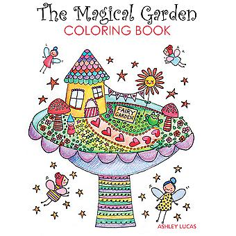 Taunton Press-The Magical Garden Coloring Book TA-67071