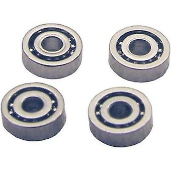 Steel Micro ball bearing Sol Expert K131 W/o enclosure (Ø x H) 3 mm x 1 mm 4 pc(s)