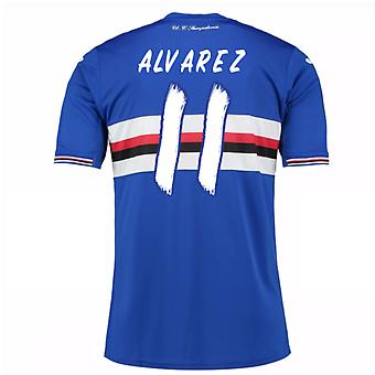 2016 / 17 Sampdoria Home Shirt (Alvarez 11) - Kinder
