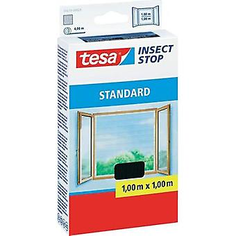 Fly screen tesa Insect Stop Standard (L x W) 1000 mm x 1000 mm Anthracite 1 pc(s)