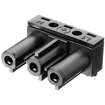 Mains connector Series (mains connectors) AC Socket, right angle