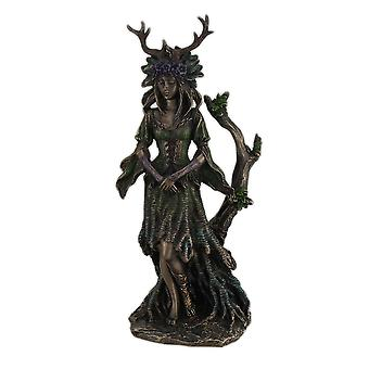 Deusa do guardião do Bronze árvores terminou a estátua
