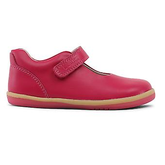 Bobux I-walk Girls Delight Mary Jane Shoes Fuchsia Pink