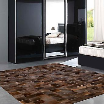 Rugs - Patchwork Leather Cubed  Blesbok Pieces