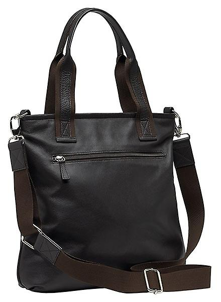 Burgmeister ladies bag T208-115A leather dark brown