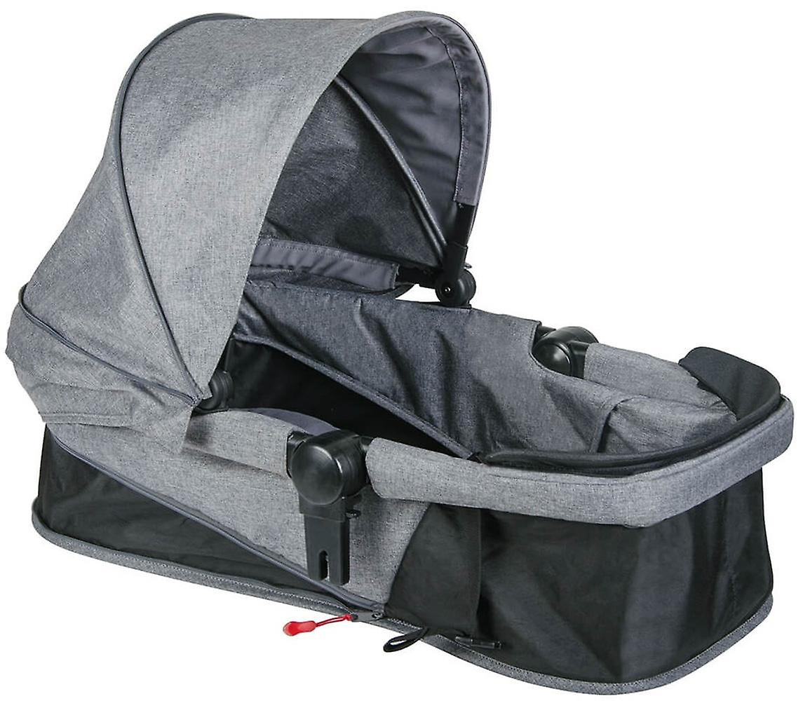 Phil & Teds Voyager Buggy Double Kit Grey Marl