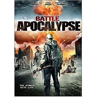 Slaget Apocalypse [DVD] USA importerer