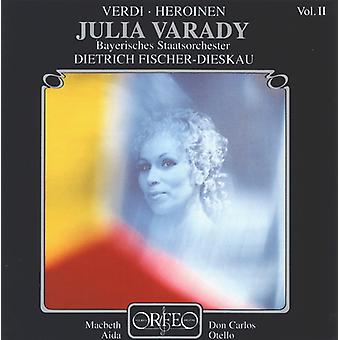 Julia Varady - Verdi, importación USA Vol. 2 [CD]