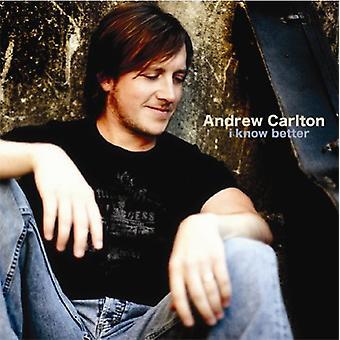 Andrew Carlton - jeg kender bedre [CD] USA import