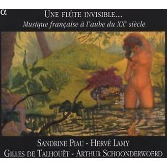 Une Flute in - Une Fl Te Invisible...: Musique Fran Aise   L'Aube Du XX Si Cle [CD] USA import