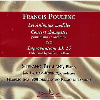 Poulenc.F. - Poulenc: Les Animaux Mod Les; Concierto campeón Tre; Importación de improvisaciones 13 y 15 [CD] Estados Unidos