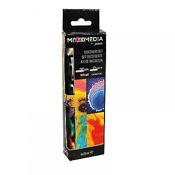 Pebeo Mixed Media Discovery Set 6 Pack