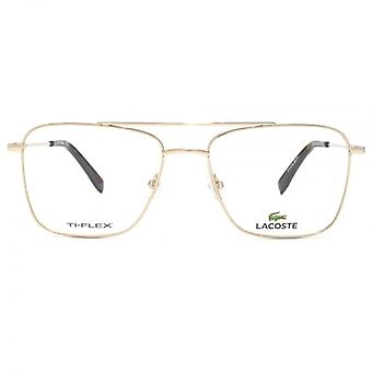 Lacoste L2229 bril In goud