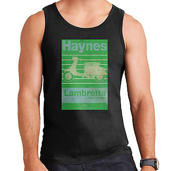 Haynes Owners Workshop Manual Lambretta 47 To 72 Distressed Men's Vest
