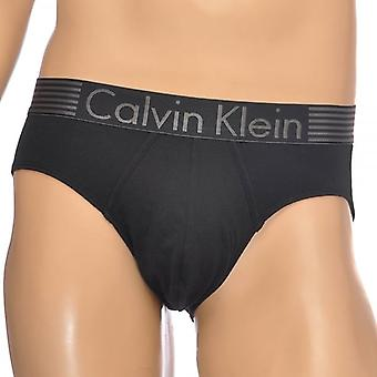 Calvin Klein Iron Strength Cotton Stretch Hip Brief, Black, X-Large