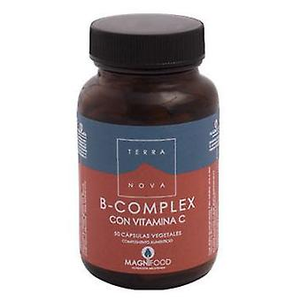 Terranova BComplex With Vitamin C Capsules (Vitamins & supplements , Vitamins)