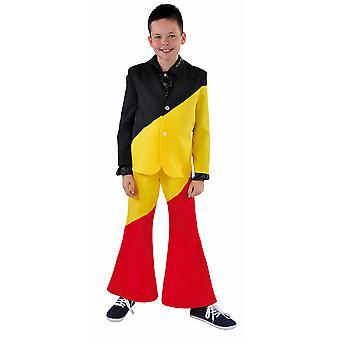 Børns kostumer børn Belgien flag barn kostume