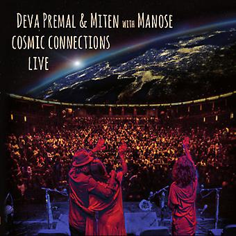 Premal, Deva / Miten / Manose - kosmisk forbindelser Live [CD] USA import
